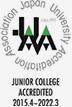 JUNIOR COLLEGE ACCREDITED 2015.4~2022.3